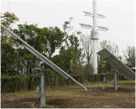 Двухосная солнечная система слежения