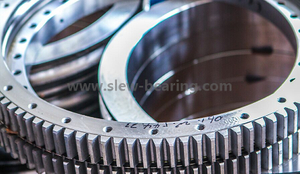 High Precision Large External Gear Slewing Ring Bearing for CNC Rotating Platform