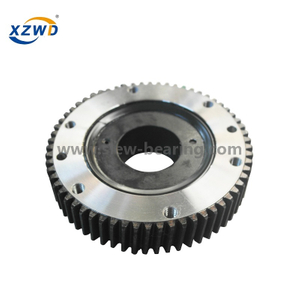 Outer Ring with Toothed Mechanical Rotary Table Accessory Slewing Bearing Type 011.40.1120